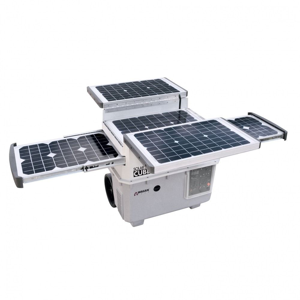 Builddirect Wagan Solar E Power Cube 1500 Solar Generator Portable Solar Power Solar Power Panels Portable Solar Generator