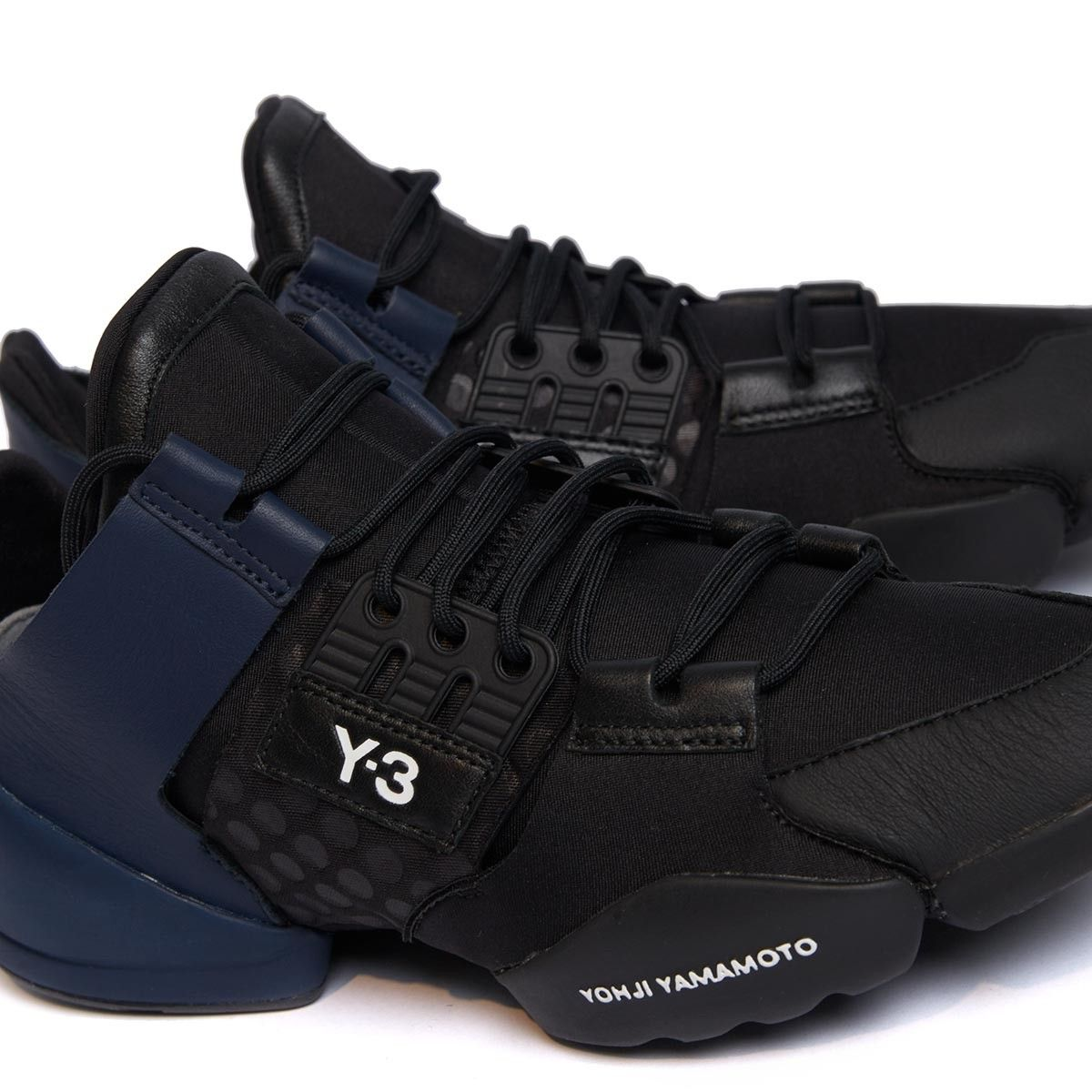 ba48ffee3 Kanja sneakers from the S S2017 Y-3 by Yohji Yamamoto collection in black