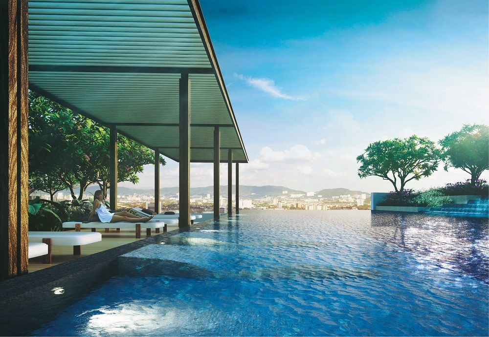 Artist's impression of Aira Residence in Damansara Heights