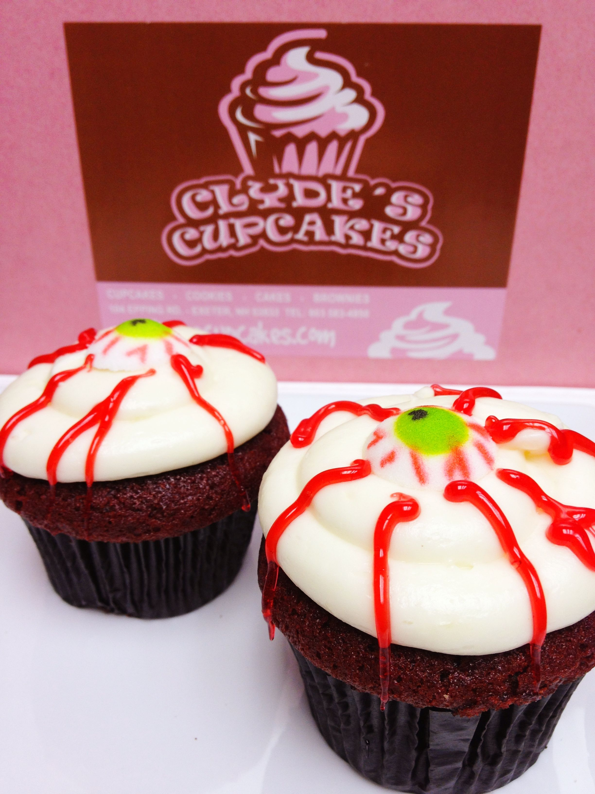 Look at this 'Sexy Eye' made with our traditional southern cake & rich, sweet cream cheese frosting!