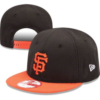 los angeles 56df7 aa9ae San Francisco Giants MLB New Era Infant My 1st 9FIFTY Snapback Adjustable  Hat
