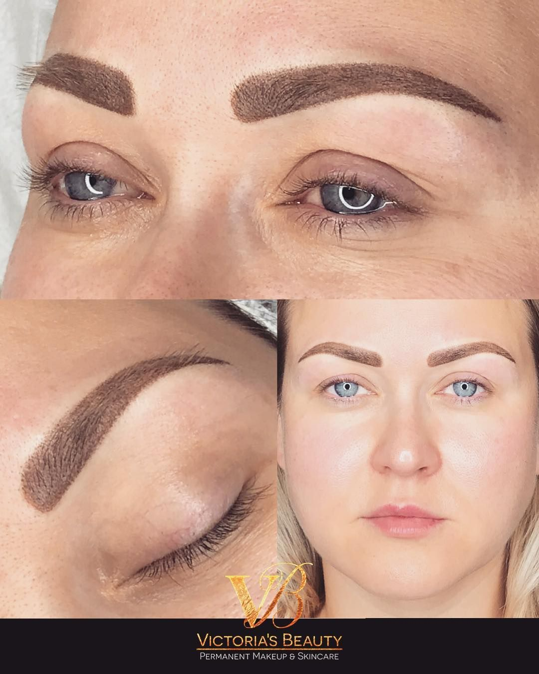 Permanent Brows Right After Procedure It Will Heal Very Soft And