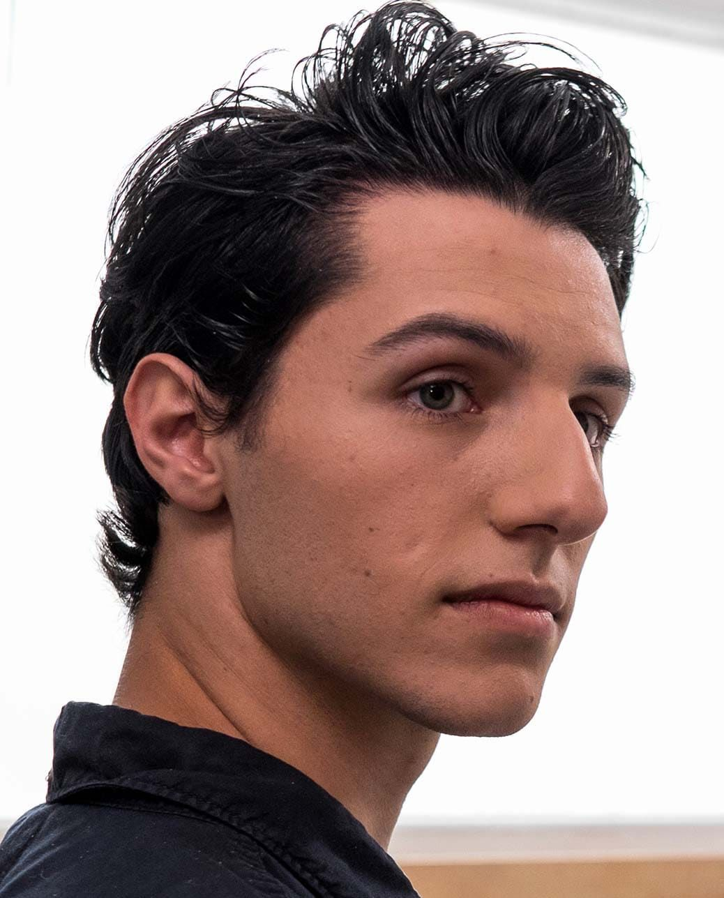Hairstyles for men long nose with images mens