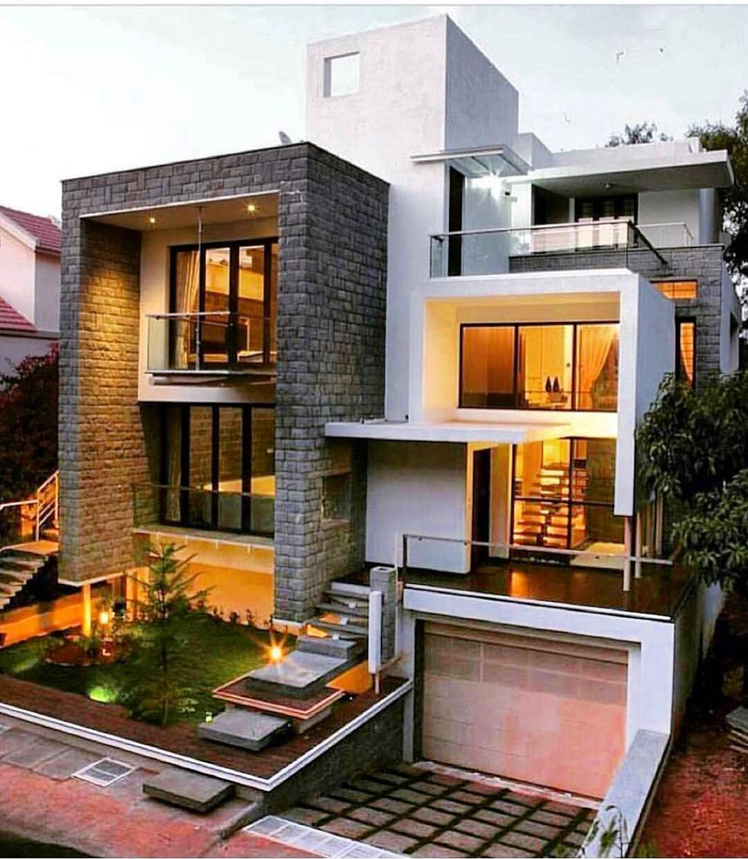 Nested Box House By TECHNOARCHITECTURE Inc Bangalore