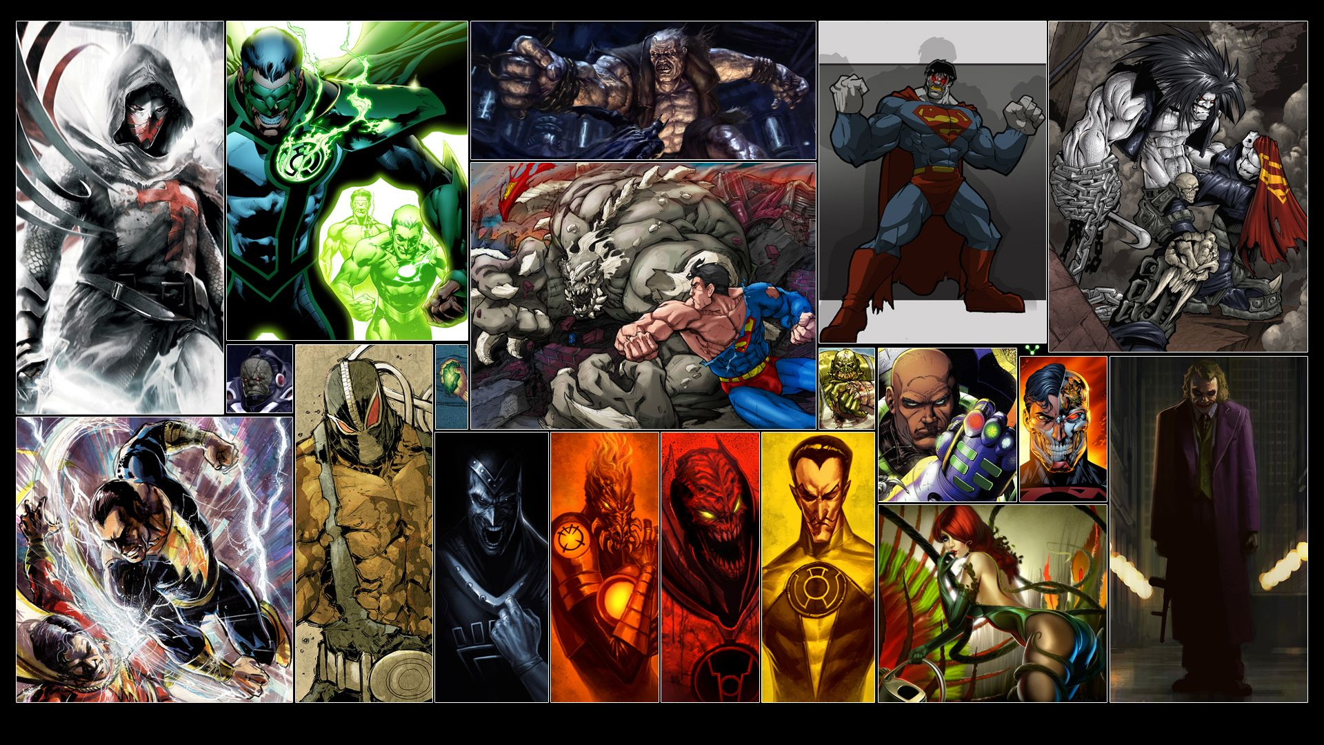 Dc Comics Super Villains Computer Wallpapers Desktop Backgrounds 1920x1080 Id 546151 Comics Dc Villains Comic Villains