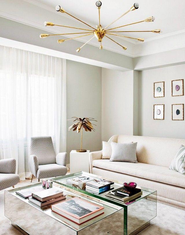 tour a playfully feminine apartment living rooms pinterest rh pinterest com