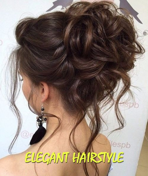 Elegant hairstyle 13