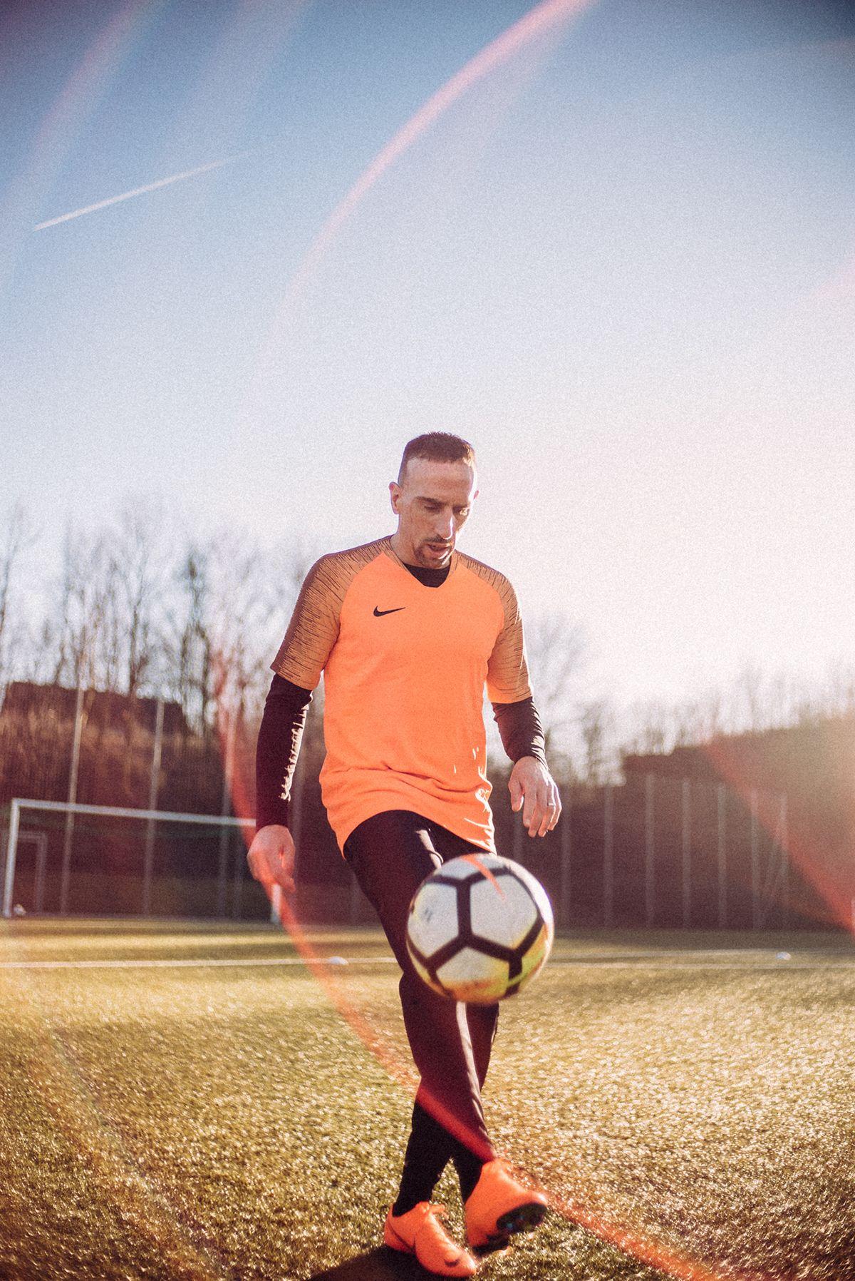 Mal uso Saga Grabar  Franck Ribery / Nike on Behance