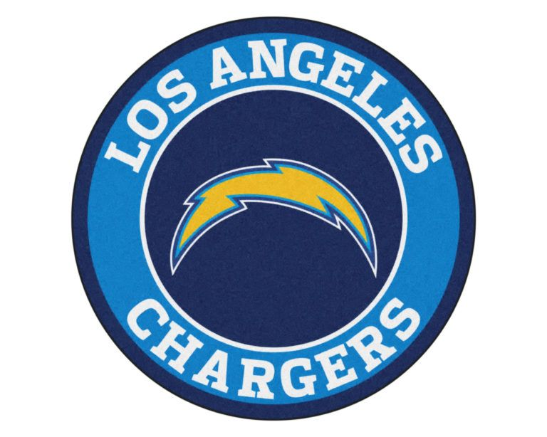 Color La Chargers Logo San Diego Chargers Round Area