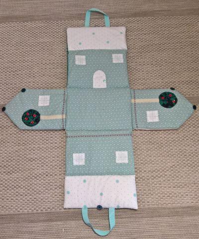 Tuto De La Maison En Tissu Tapis De Jeu En Feutrine Jouets En Tissu Couture Piece