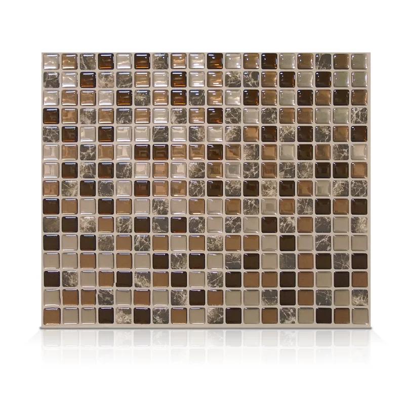 Minimo 10 X 12 Vinyl Peel Stick Mosaic Tile In 2020 Smart Tiles Decorative Wall Tiles Backsplash
