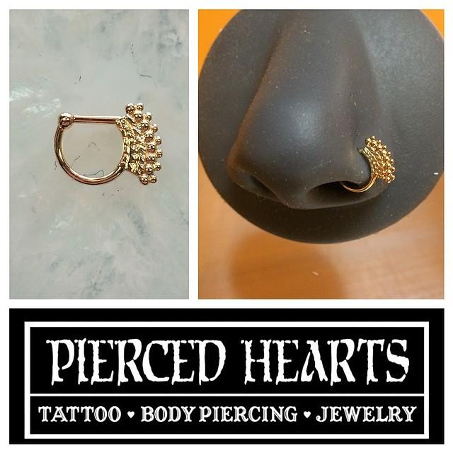 """Pierced Hearts on Instagram: """"18g 1/4"""