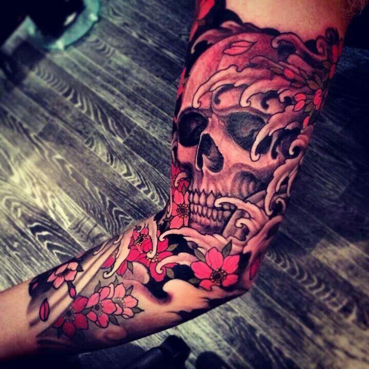 King queen skull tattoos google search tattoo for King and queen skull tattoos