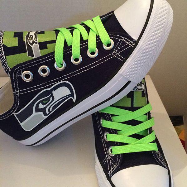 Seattle Seahawks Converse Sneakers - http://cutesportsfan.com/seattle- seahawks