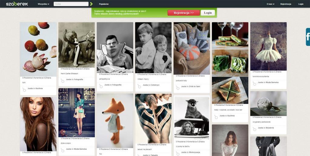 Portal Szaberek Pl Dziala Na Zasadzie Pinterest 4226018336 Oficjalne Archiwum Allegro Portal Photo Wall Polaroid Film