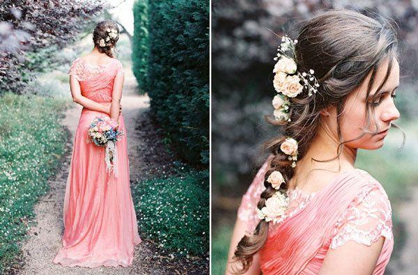 Robe pour mariage theme champetre chic