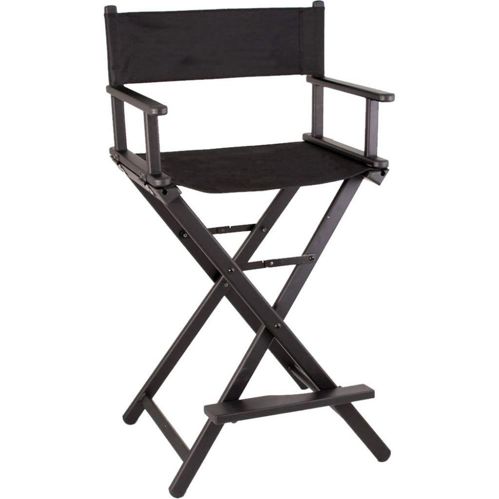 Director chair covers spotlight makeup artist chair
