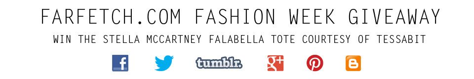 I want to win this designer bag in the #farfetchgiveaway for #lfw from @Tessabit - farfetch
