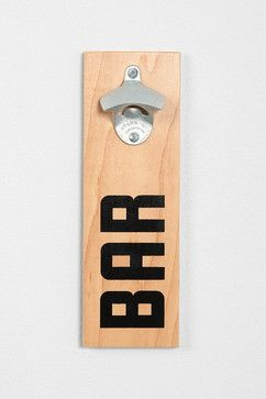 Mounted Bottle Opener - contemporary - barware - Urban Outfitters