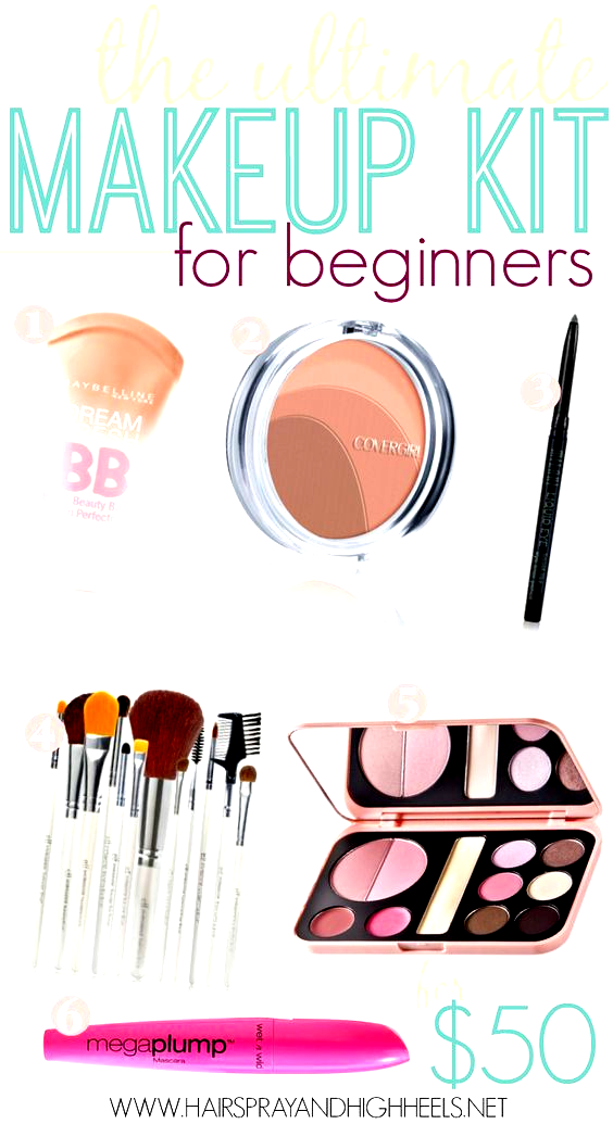 Beginners Makeup Kit in 2020 Beginner makeup kit, Makeup