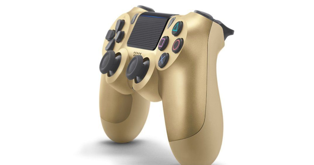 Dualshock 4 Wireless Controller For Playstation 4 Gold Import Cuhzct2g Check This Awesome Product Dualshock Wireless Controller Playstation Controller