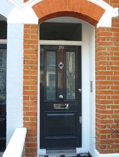 London Doors, Front Door, Victorian / Edwardian Door. For nickel ...