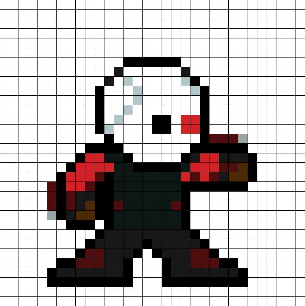 Deadshot SS Perler Bead Pattern   Cool   Pinterest   Dibujos ...