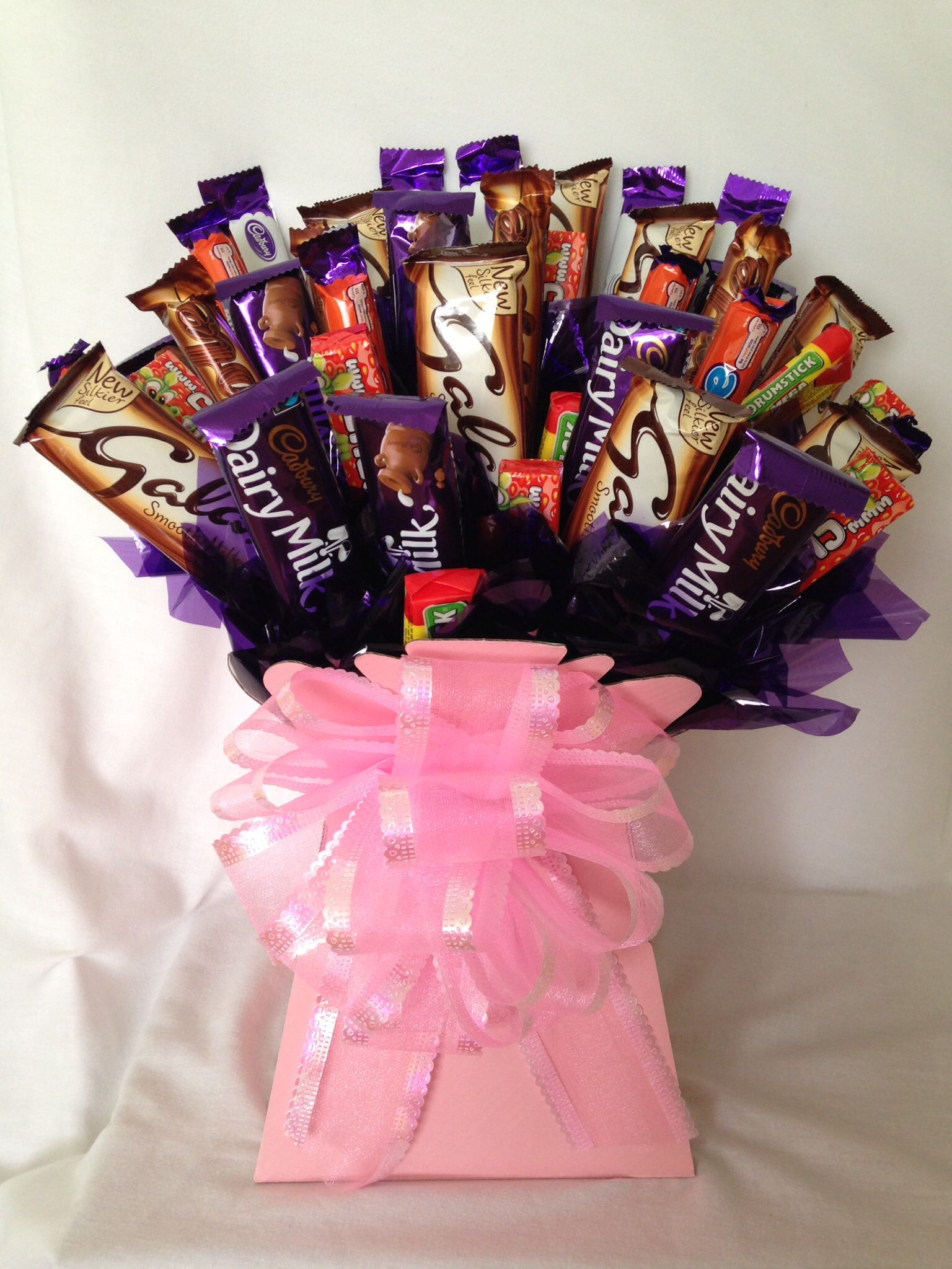 Chocolate bouquet by wwwsweetbloomscouk