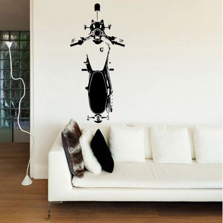 Visual Think Triumph MotorcycleMc09 Wall Stickers, available on Ferro29 Online Store.