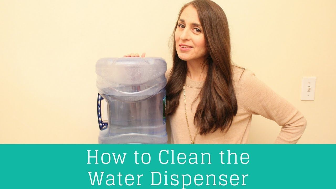 How to Clean the Water Dispenser! Clean Casa Water