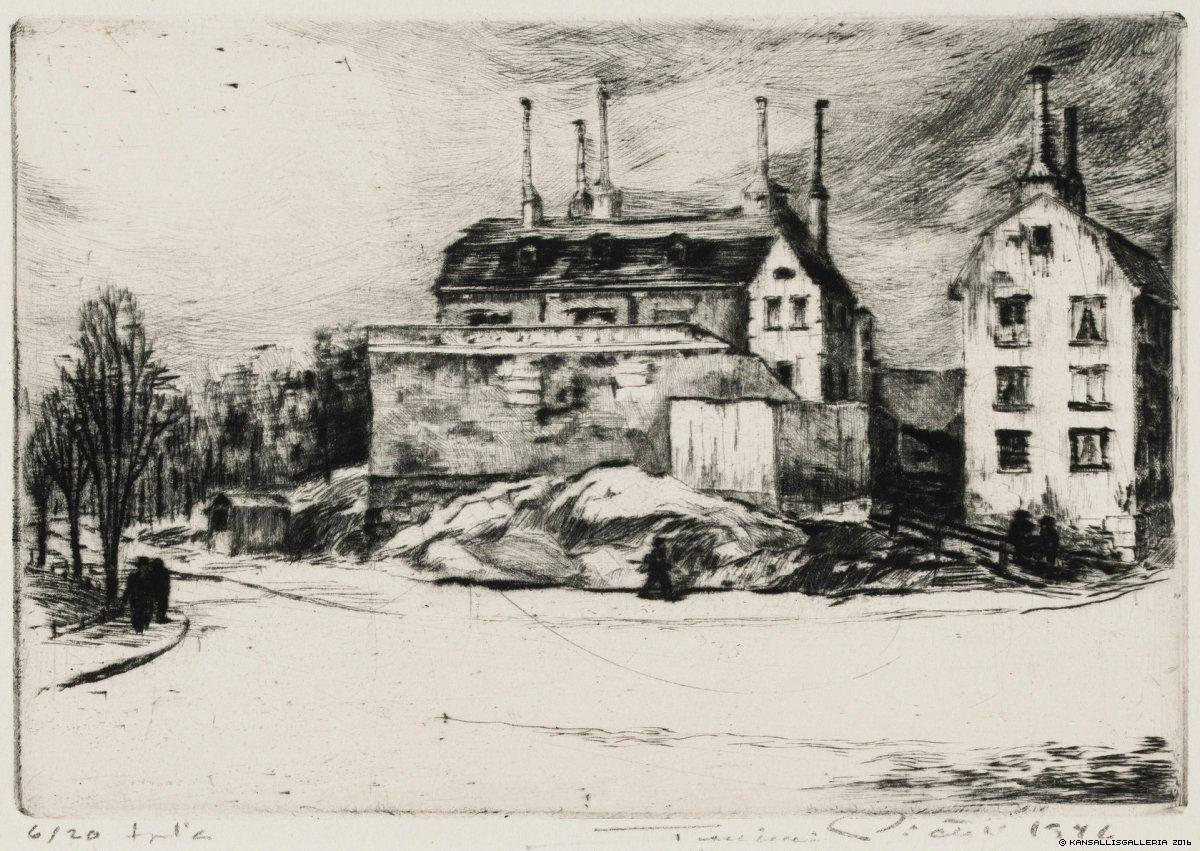 Pietilä, Tuulikki Ennen rajuilmaa (Tukholman Södern) 1946