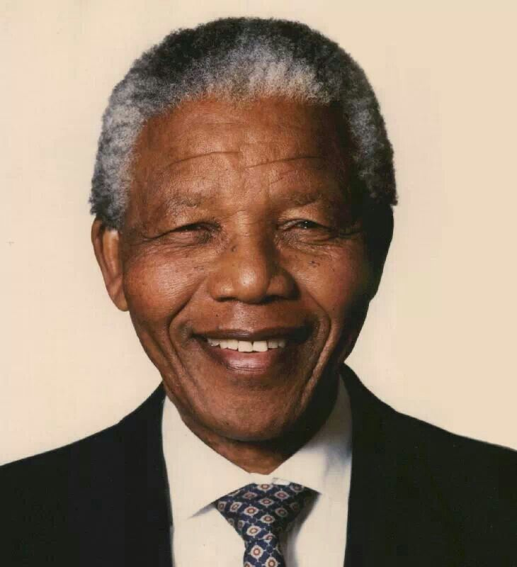 Nelson Mandelam was the first black african to be president in south africa, elected in a fully repreasentitve.
