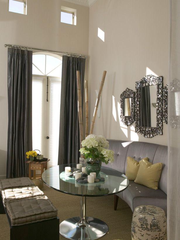 Hgtv Contemporary Living Rooms Room Bench Plans Dining Designer Portfolio Home Garden Television