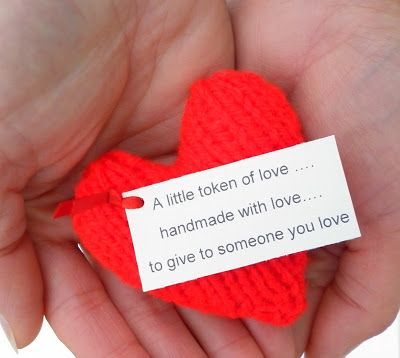 The Wool Nest Free Knitting Pattern 4 Valentine Heart A Little