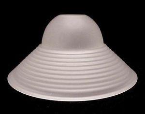 Art deco satin glass neckless lamp shade perfect for pendant light art deco satin glass neckless lamp shade perfect for pendant light fixture with threaded socket 1 58 ft x 4 12 x 9 34 aloadofball Gallery