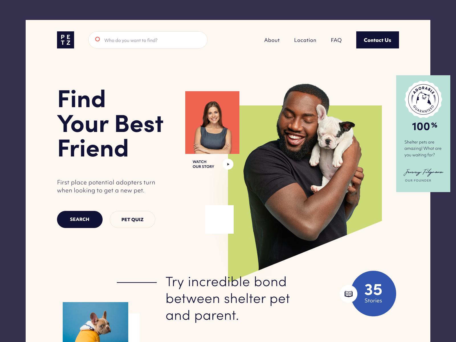 Petz Website In 2020 Website Job Opening Website Design