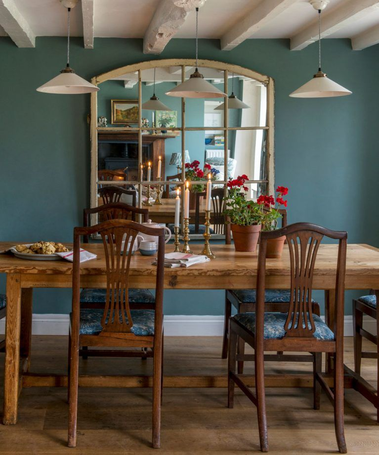 Take a tour around this eclectic Arts and Crafts cottage in Surrey is part of Eclectic Living Room Teal - Take a tour around this eclectic Arts and Crafts cottage in Surrey