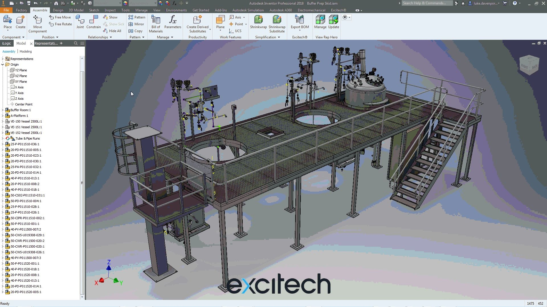 Design, visualize, and simulate factory equipment under