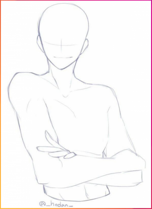Image Result For Crossed Arms Pose Image Result For Crossed Arms Pose Ani Ani Arms Art Tut In 2020 Drawing Body Poses Drawing Poses Male Body Pose Drawing