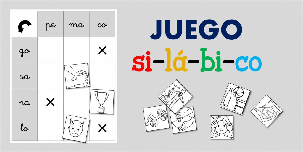 Juegos silábicos con palabras bisílabas | IdeAs y RecUrsOs paRa ...