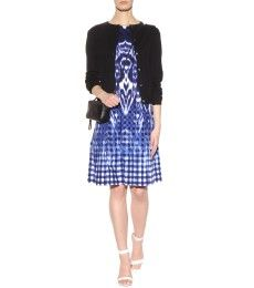 Oscar de la Renta - Printed cotton dress - mytheresa.com