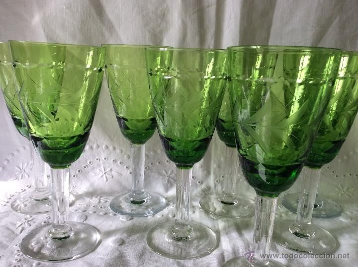 Antig edades cristaleria antigua copas de vino en cristal for Cristaleria copas