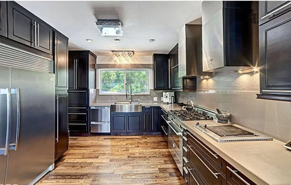 century kitchen update modern the upgraded kitchen can handle large scale entertaining and touting an italian - Mid Century Modern Kitchen Update