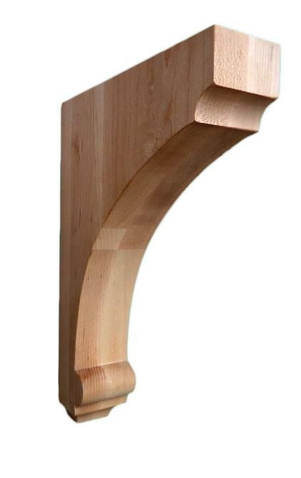 Classic Plain Corbel 12 Hx2 1 2 Wx8 D Wooden Kitchen Style Corbels Grape Corbels Floral Corbels Decor Corbels Home Improvement Home Improvement Projects