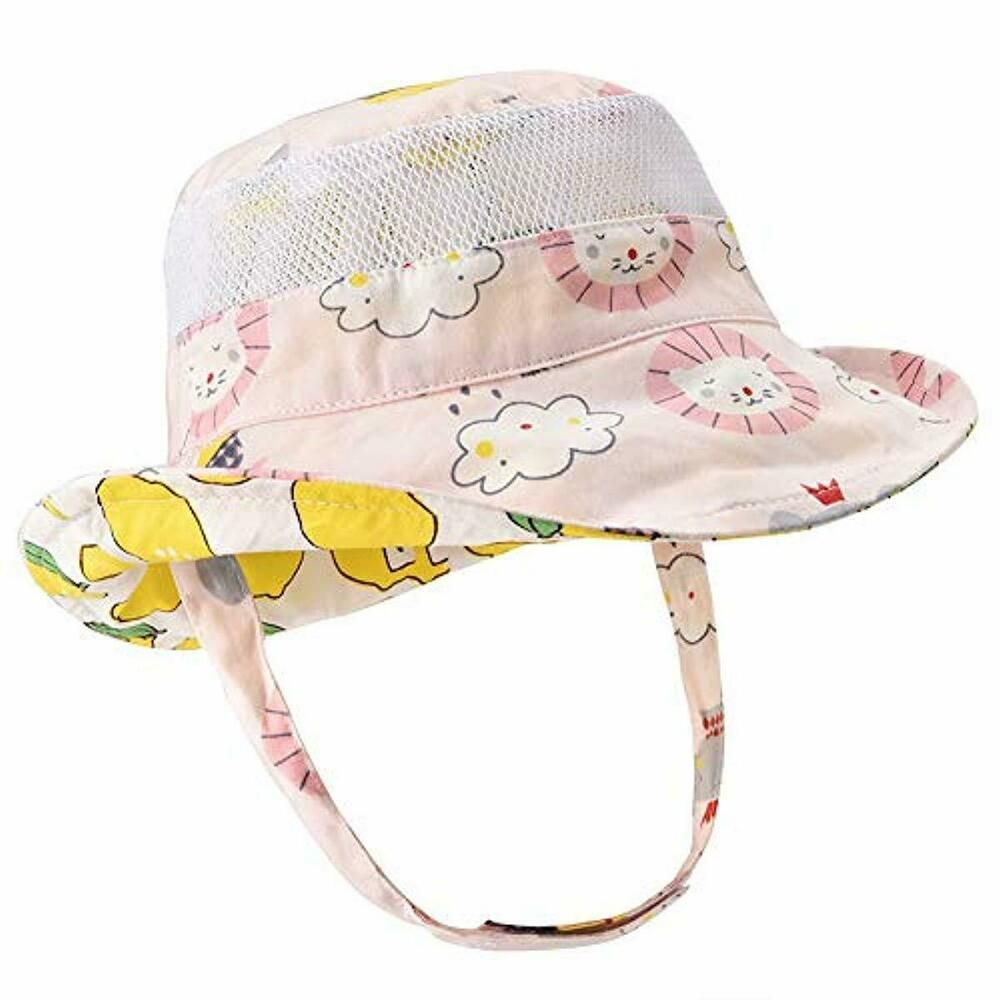403505338 Baby Sun Hat Double Sides - Toddler Sun Hat UPF 50 Kids Summer Play ...