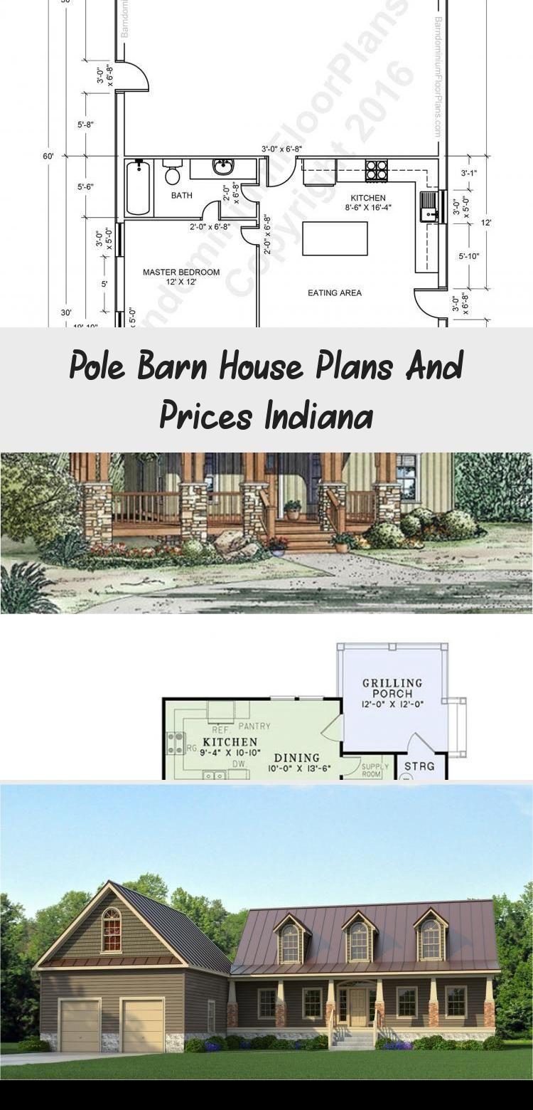 Pole Barn House Plans And Prices Indiana Decor Polebarns In 2020 Pole Barn House Plans Barn House Plans Pole Barn Homes