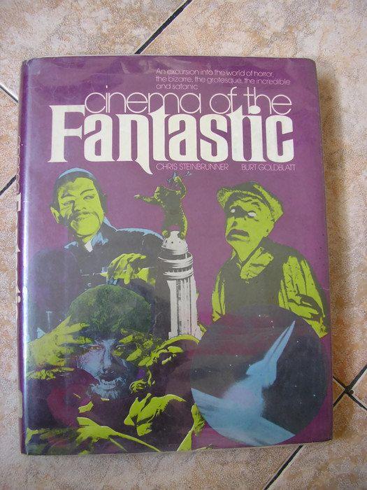 vintage 1974 cinema of the fantastic scifi book