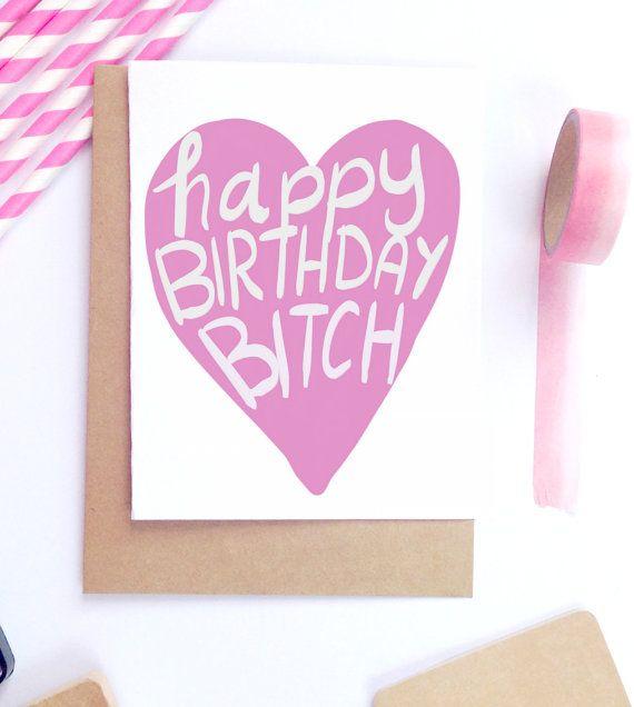 Funny Bday Cards Funny Birthday Card Best Friend Card Friendship