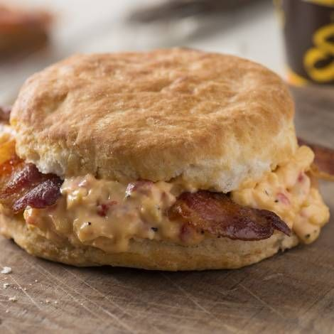 Pimento Cheese Bacon Biscuit Breakfast Sandwich Breakfast Sandwich Food Food Spot