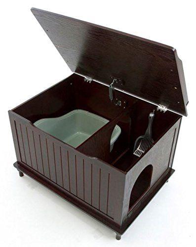 Discreet Litter Box Furniture Reviews Cool Cat Tree Plans